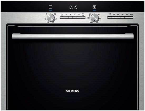 HB84K552 - Four compact micro-ondes à encastrer Siemens -Inox  | électroménager | Cailler électroménager
