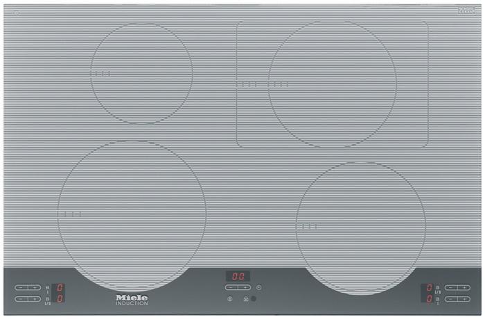Plan de cuisson en vitrocéramique à induction Miele - KM 5956 ICE