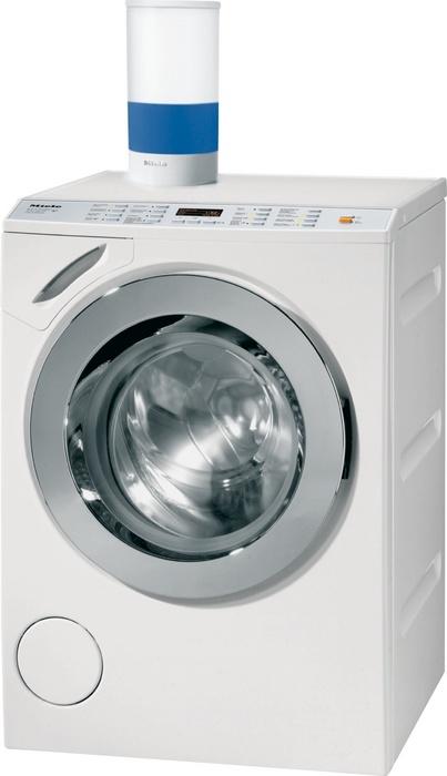Lave-linge Miele avec détection automatique de charge pour économies eau et énergie - W 67-69 CH LiquidWash